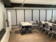 Our collaboration space can comfortably host up to 20 colleagues for your next corporate off-site!