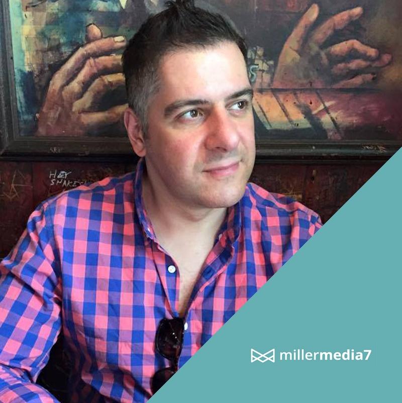 miller media UI and UX design