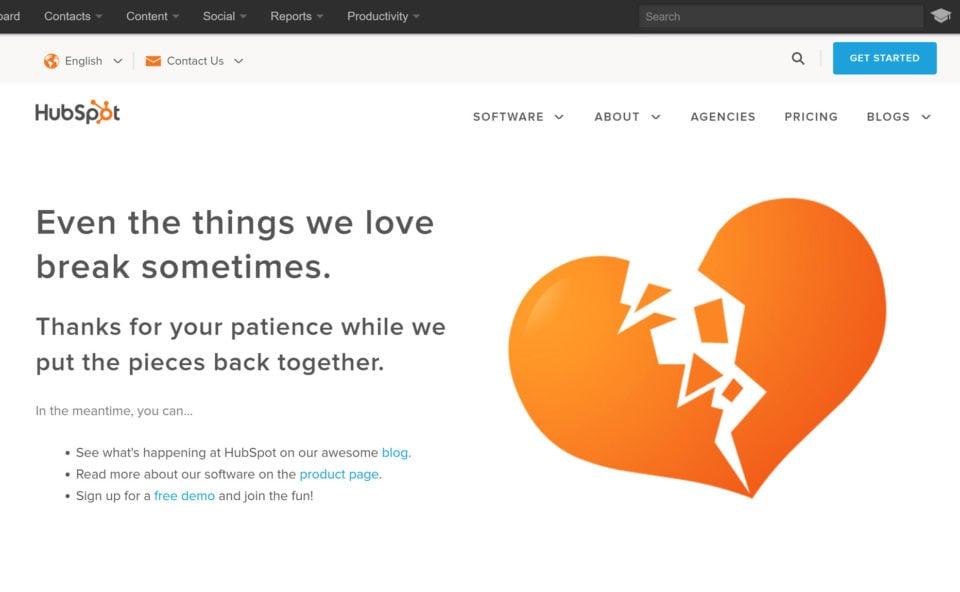 beautiful 404 page