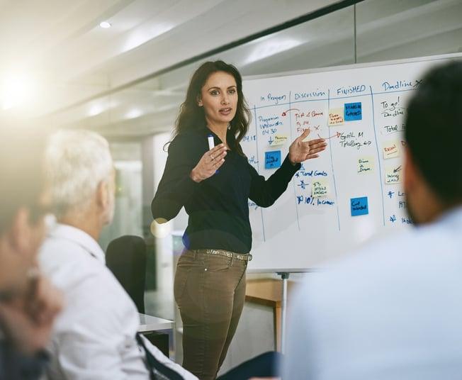 Meeting on b2b marketing strategies