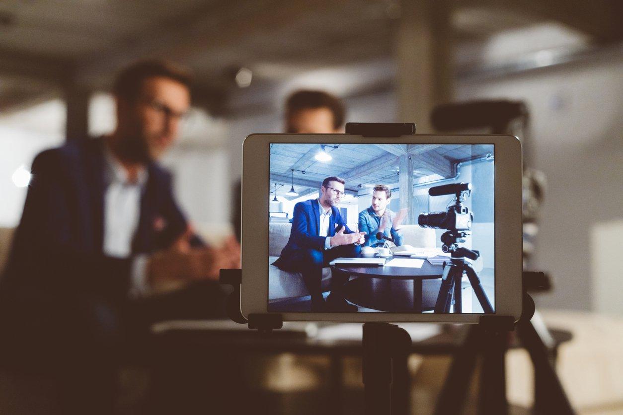 two-men-filming-video-for-business-marketing-effort