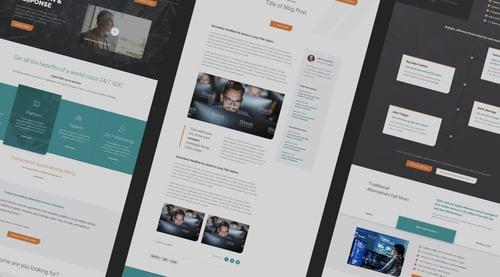 Cysiv Hubspot CMS Website Design