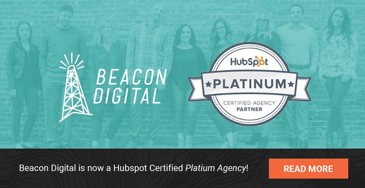 Beacon Digital Marketing Named Hubspot Platinum Partner Agency